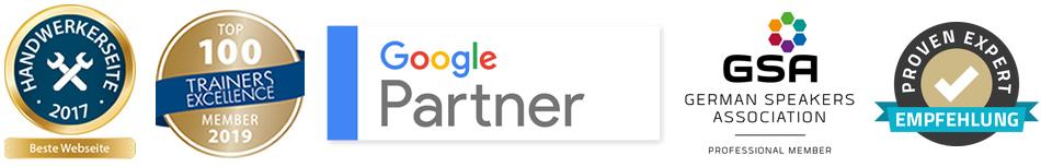 Partner und Auszeichnungen
